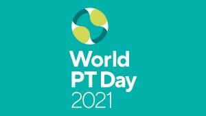 World PT Day 2021 logo